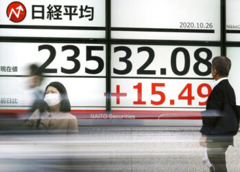 Asian stock indices