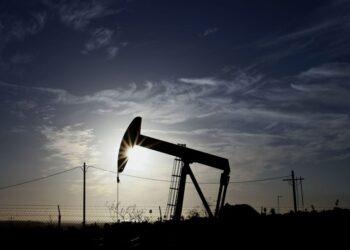 A TORC Oil & Gas pump jack