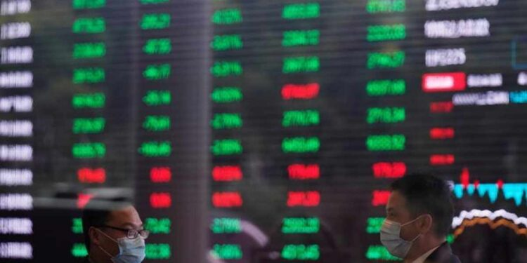 Asian stocks weaken as infection