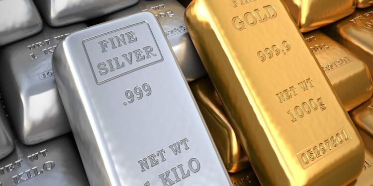 Gold and Silver